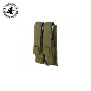PORTACARGADOR DOBLE MP5 VERDE (ACM)