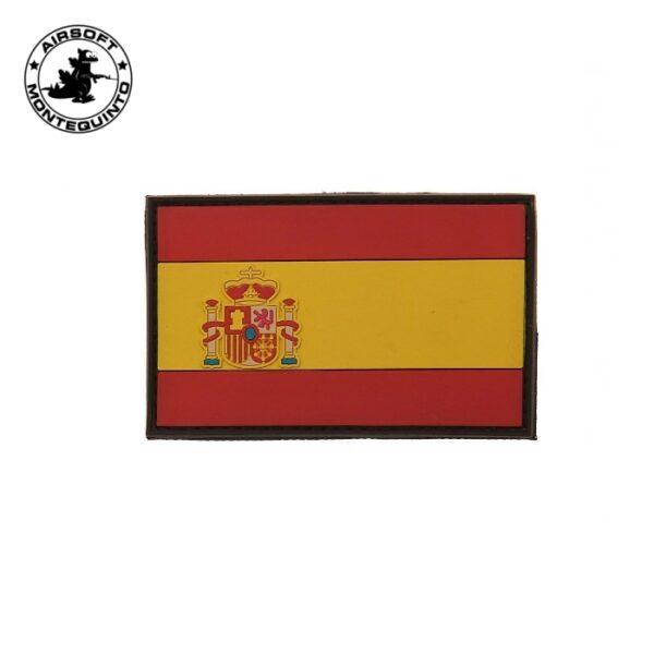 PARCHE PVC BANDERA ESPAÑA COLOR - ACM
