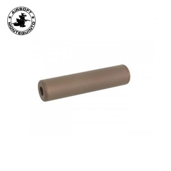 SILENCIADOR STUBY SKULL 130X30 mm COYOTE BROWN - ACM