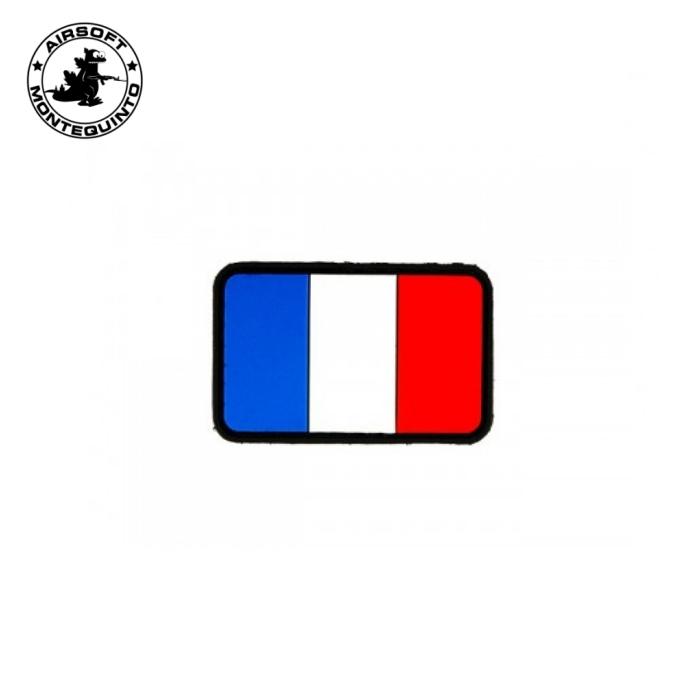 PARCHE PVC BANDERA FRANCIA (ACM)