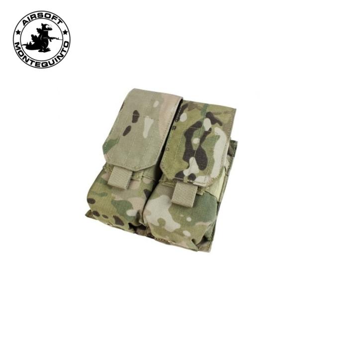 PORTACARGADOR DOBLE G36 / AK TIPO 2 MULTICAM (ACM)