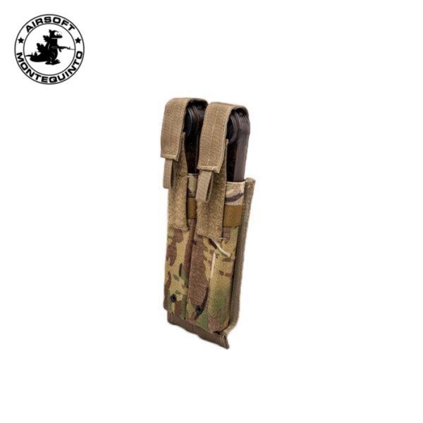 PORTACARGADOR DOBLE P90 / MP7 / UMP MULTICAM - ACM