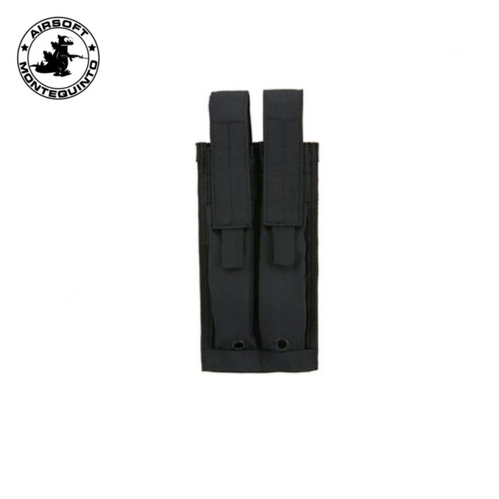 PORTACARGADOR DOBLE P90 / MP7 / UMP NEGRO (ACM)