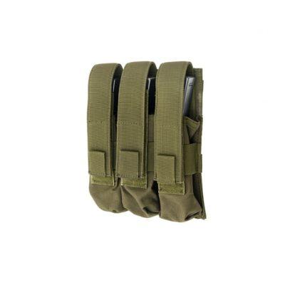 PORTACARGADOR TRIPLE MP5 VERDE - ACM
