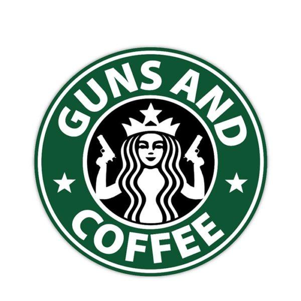PARCHE GUNS AND COFFE - ACM