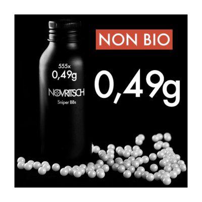 BOTE DE 555 BOLAS 0.49G (NOVRITSCH)