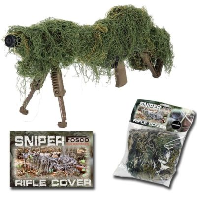 GHILLIE PARA RIFLE WOODLAND