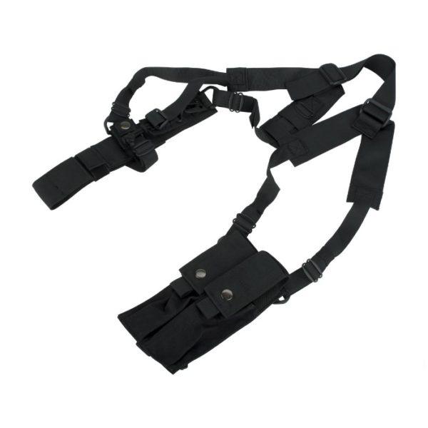 FUNDA SOBAQUERA MP5K NEGRA- MIL FORCE