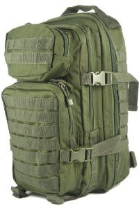 MOCHILA US ASSAULT VERDE 20L - MILTEC