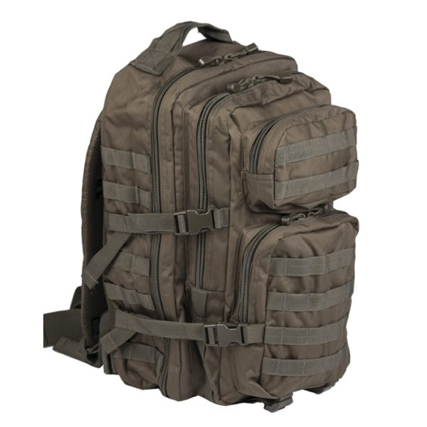 MOCHILA US ASSAULT 36L VERDE MILTEC