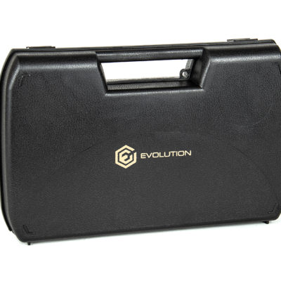 FUNDA TRANSPORTE RÍGIDA PISTOLA 30,5X19X6 - EVOLUTION