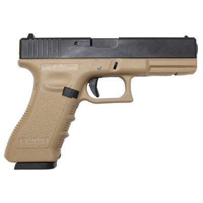 GLOCK 17 FULL METAL GAS TAN (KJW)