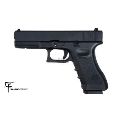 GLOCK 17 FULL METAL CO2 NEGRA (SAIGO DEFENSE)