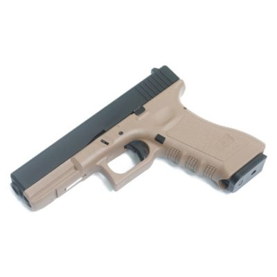 GLOCK 17 FULL METAL GAS TAN SAIGO DEFENSE