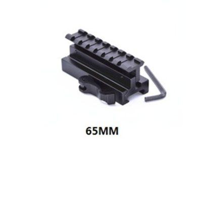 ELEVADOR RAIL QD AJUSTABLE 65MM (ACM)