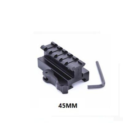 ELEVADOR RAIL QD AJUSTABLE 45MM (ACM)