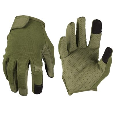 GUANTES TOUCH VERDE TALLA S (MILTEC)