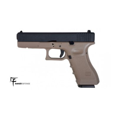 GLOCK 17 FULL METAL CO2 TAN - SAIGO DEFENSE