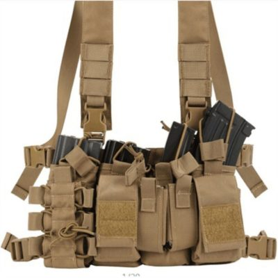 M4 CHEST RIG TAN - ACM