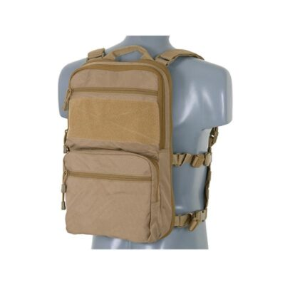 MOCHILA CON PANEL FRONTAL MOLLE TAN - ACM