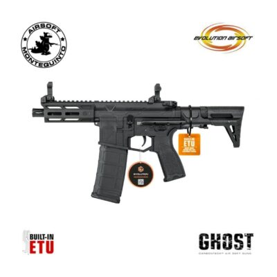 EVOLUTION GHOST XS EMR PDW ETU CARBONTECH - EVOLUTION AIRSOFT