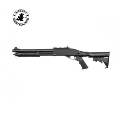 ESCOPETA M870 MK2 FULL METAL DE MUELLE - GOLDEN EAGLE