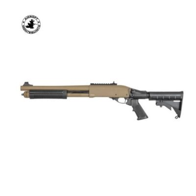 ESCOPETA M870 MK2 FULL METAL DE MUELLE TAN - GOLDEN EAGLE