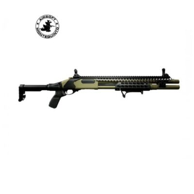 ESCOPETA M870 MK3 FULL METAL DE MUELLE TAN - GOLDEN EAGLE