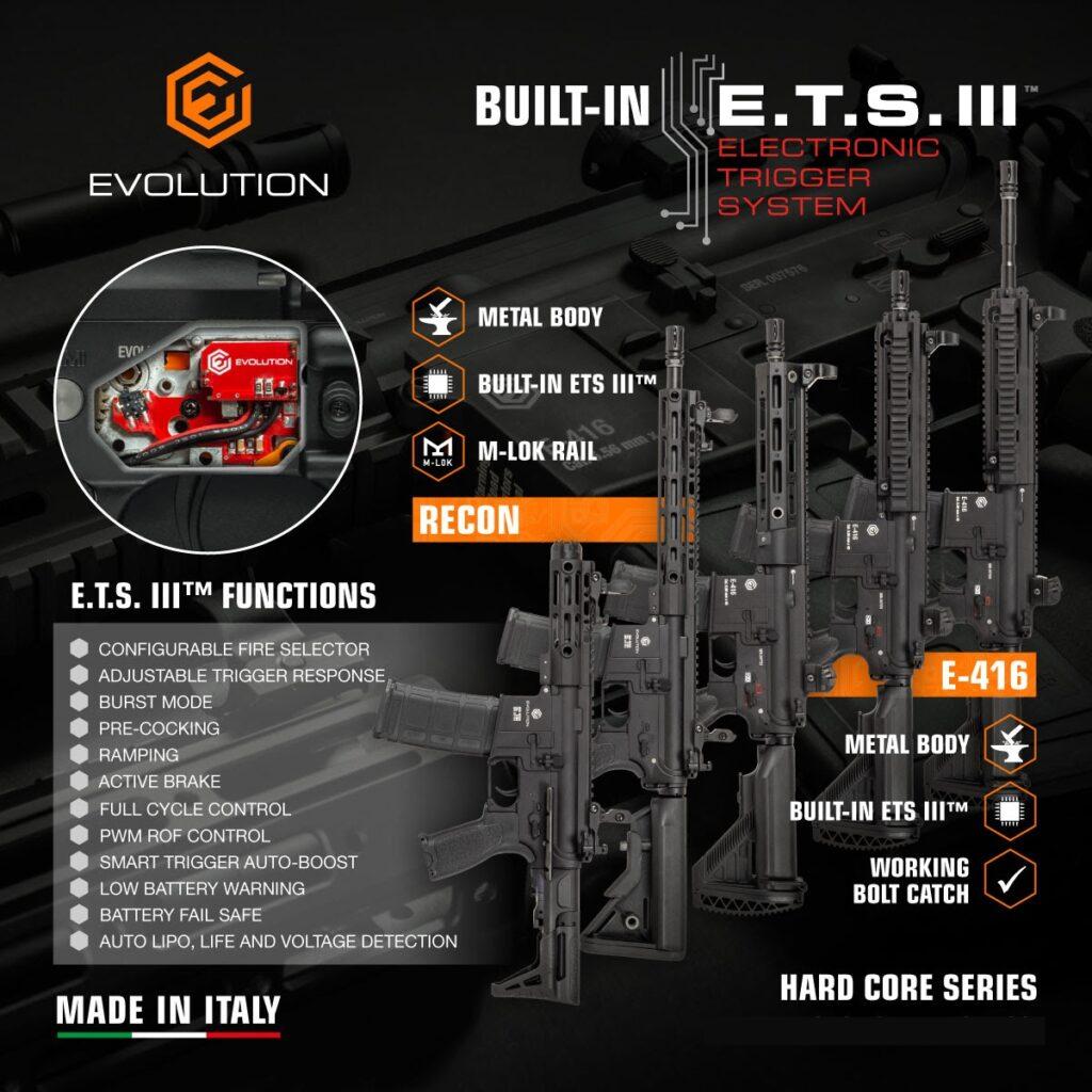 EVOLUTION HARD CORE ETS III