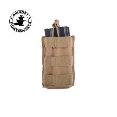 PORTACARGADOR SIMPLE M4 TAN - ACM