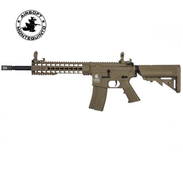 "LT-19 M4 KEYMOD 10"" TAN - LANCER TACTICAL"