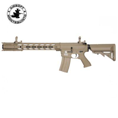 LT-25 G2 M4 SPR INTERCEPTOR TAN - LANCER TACTICAL