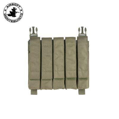 PORTACARGADOR HIBRIDO MP5/SMG OD - ACM